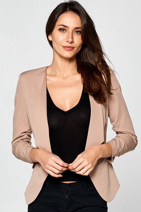 Lead By Example Blazer (Khaki)