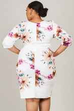 Load image into Gallery viewer, Floral Kisses Dress (Ivory/Floral)