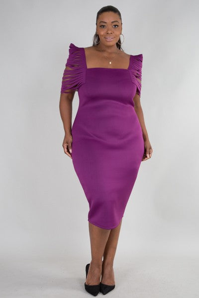 Need More Time Dress (Plum)