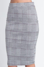 Load image into Gallery viewer, Perfect In Plaid Skirt (Gray)