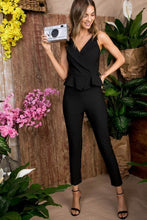 Load image into Gallery viewer, Main St. Jumpsuit (Black)