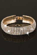 Load image into Gallery viewer, 7-Line Rhinestone Bracelet