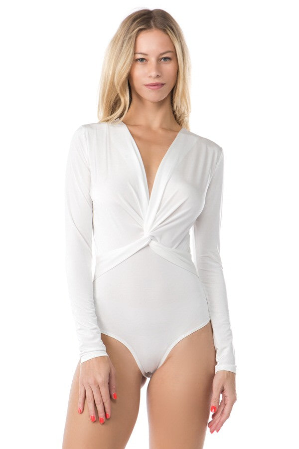 Knot Your Business Bodysuit (White)