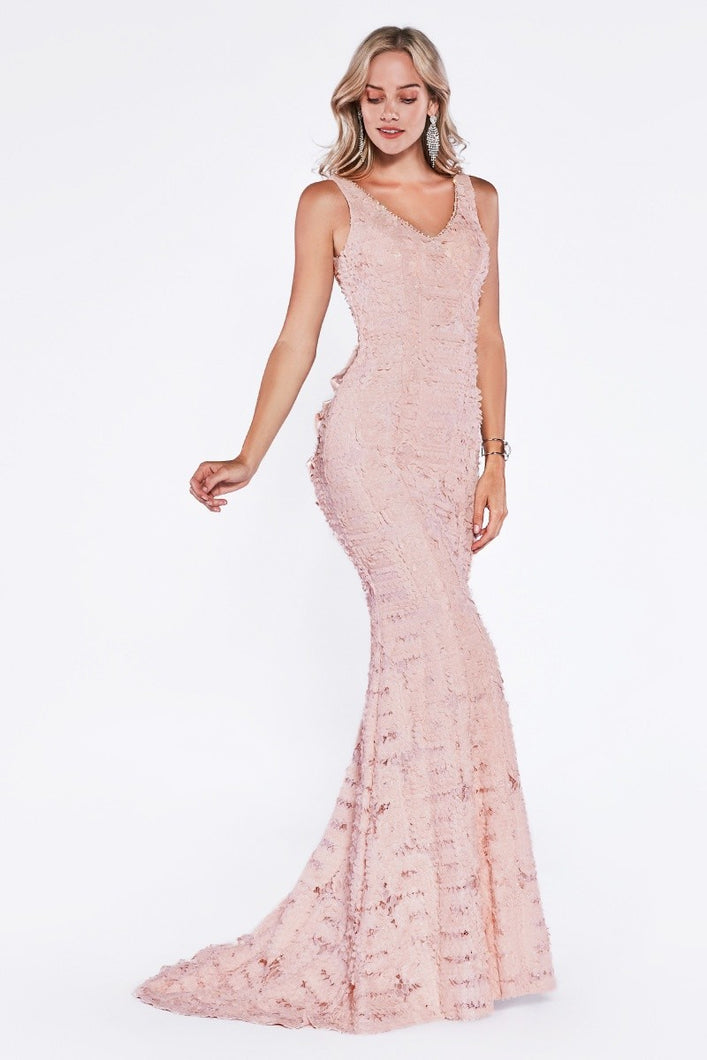 Queen Stacy Dress (Blush)