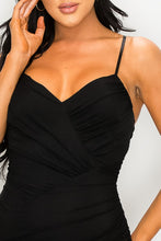 Load image into Gallery viewer, Playful Night Dress (Black)