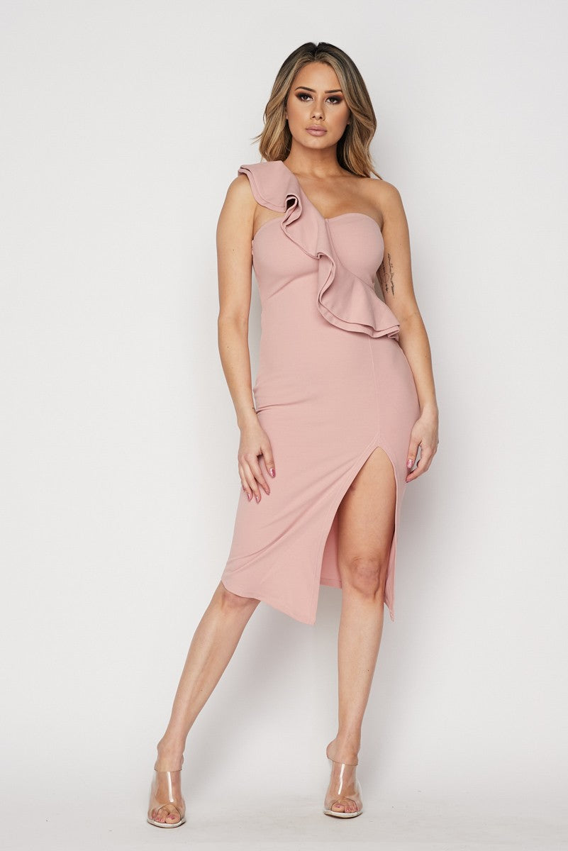 Fight For Love Dress (Mauve)
