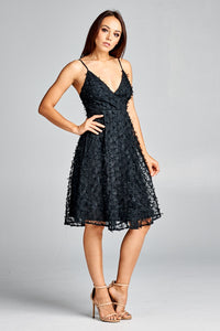 Princess Marcella Dress (Black)