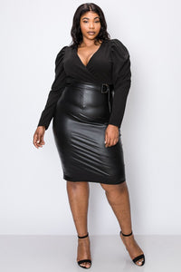 Double Standards Dress (Black)