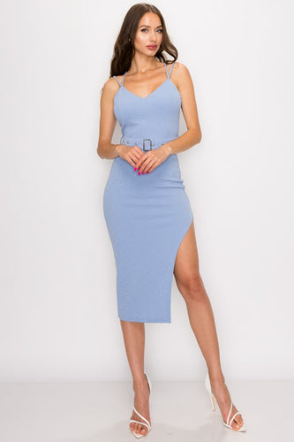 Moment Like This Dress (Light Blue)