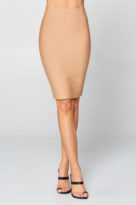 Miracle Bandage Skirt (Khaki)