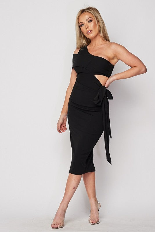 Sexy Chic Dress (Black)