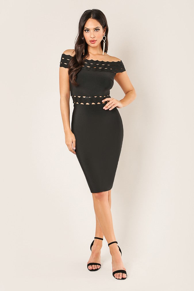 Broken Memories Dress (Black)