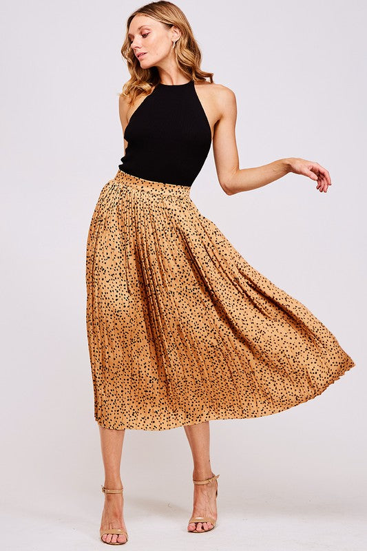 Picture Perfect Skirt (Camel)