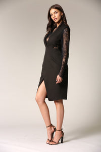 I Am Yours Dress (Black)