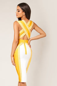 Royal Dreams Dress (Mustard)