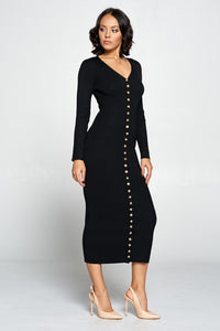 Keep It Real Dress (Black)