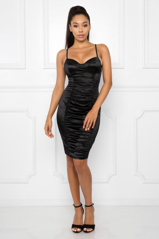 Lucky One Dress (Black)