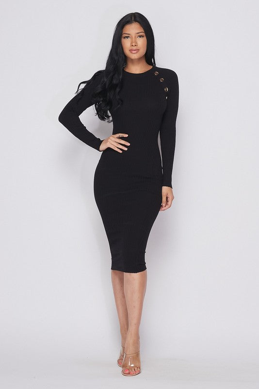 Take Me Anywhere Dress (Black)