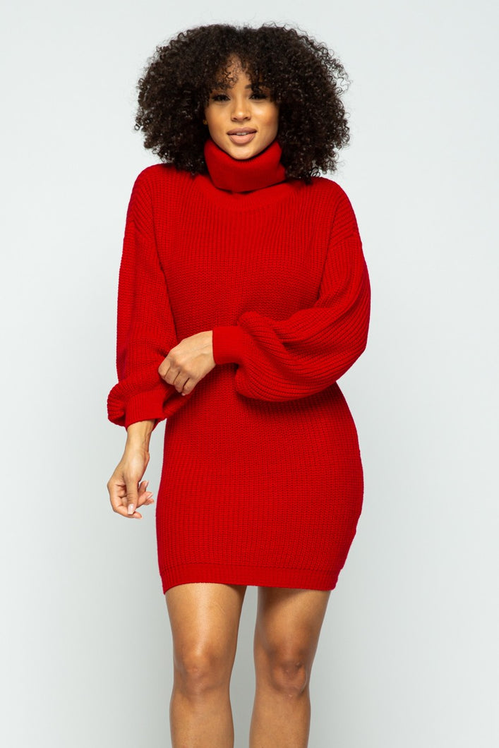 Outta Your League Dress (Red)