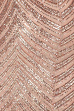 Load image into Gallery viewer, RSVP Party Dress (Rose Gold)