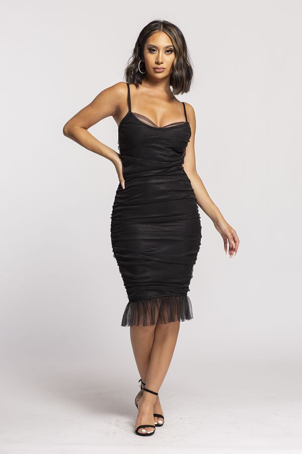 Dress Up Tonight Dress (Black)