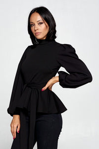 Confidence Boost Top (Black)
