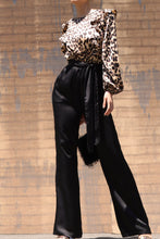 Load image into Gallery viewer, Firestarter Jumpsuit (Leopard/Black)
