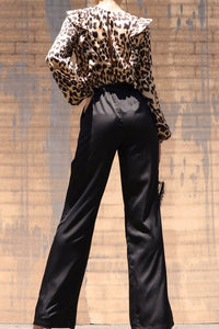 Firestarter Jumpsuit (Leopard/Black)