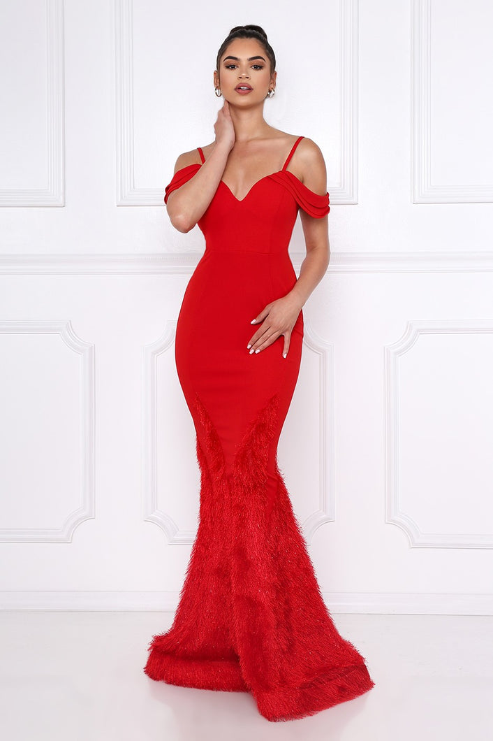 Queen Bella Dress (Red)