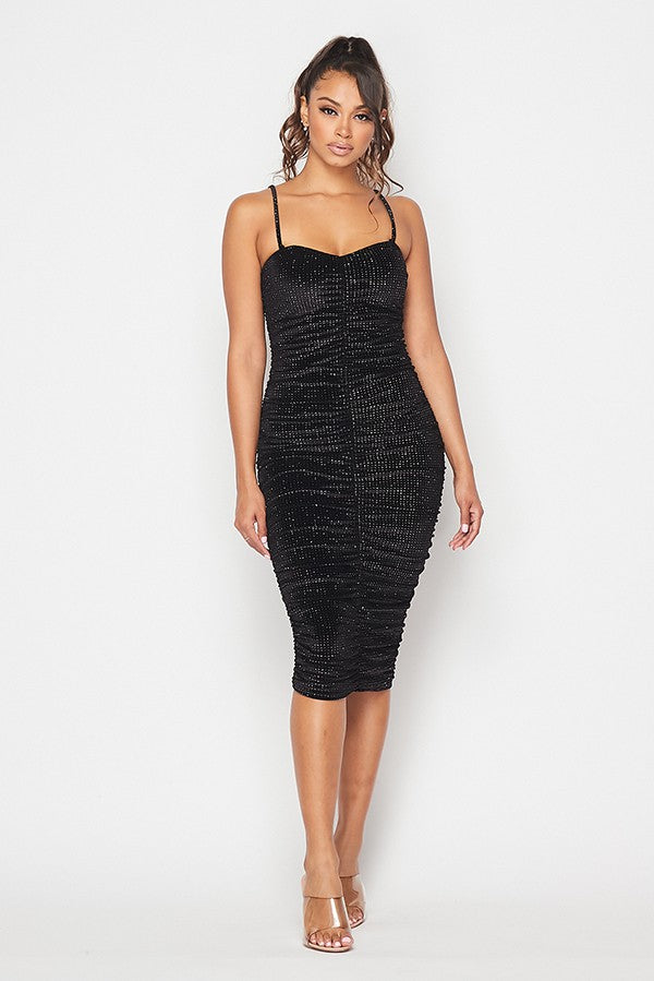Life of the Party Dress (Black)
