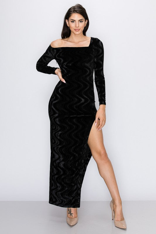 Give Me Attention Dress (Black)