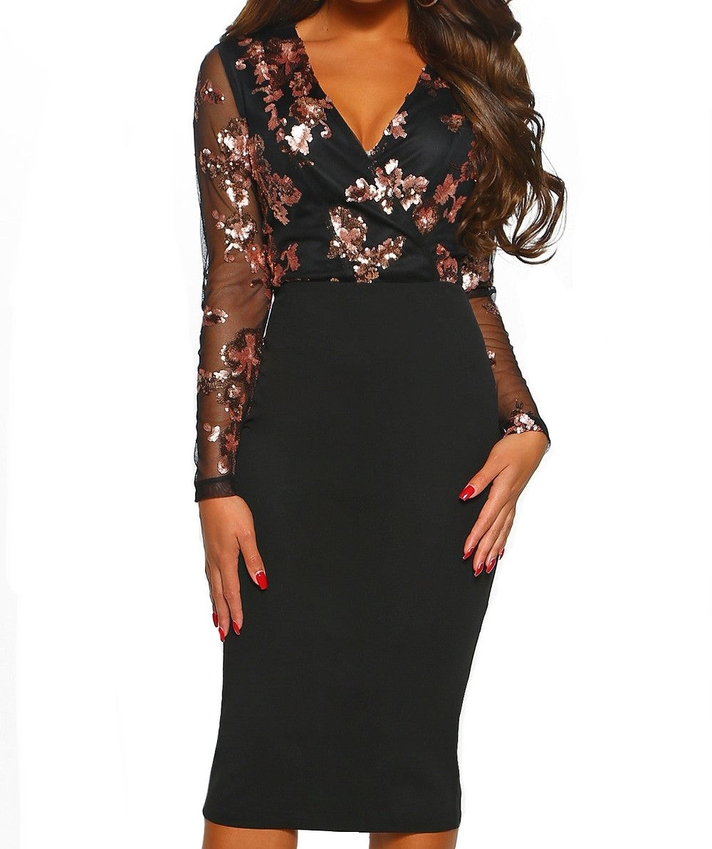 Dreaming Of You Dress (Black)