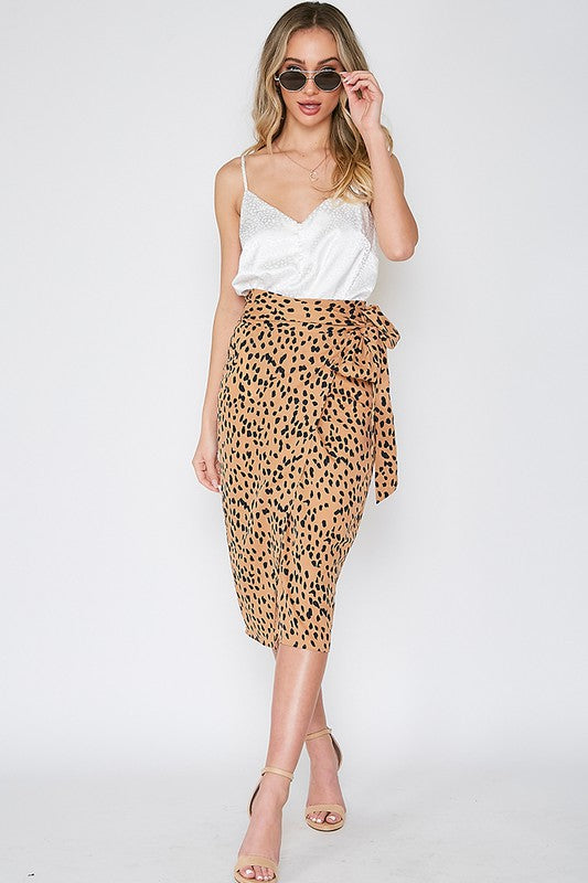 Parisian Goddess Skirt (Camel)