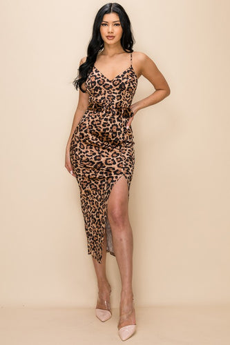I Am Fearless Dress (Leopard)