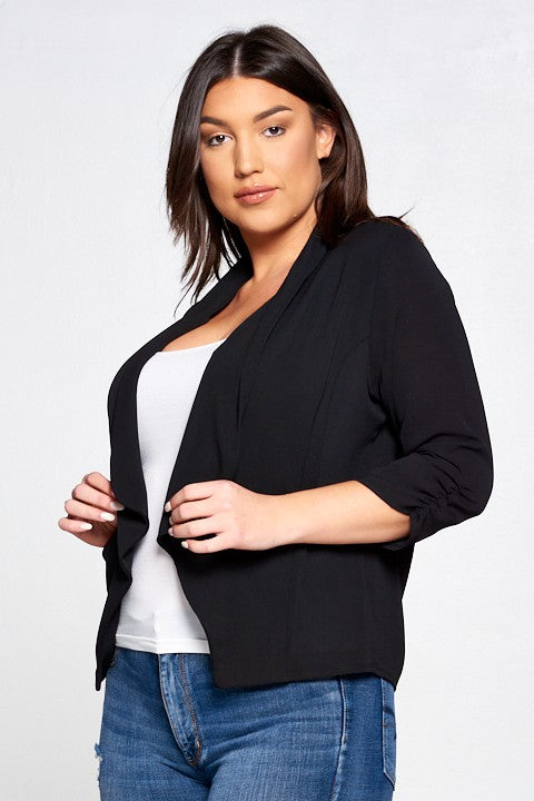 Lady-Like Blazer (Black)