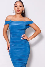 Load image into Gallery viewer, The Revenge Dress (Teal)