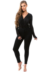 Slip Away Bodysuit (Black)