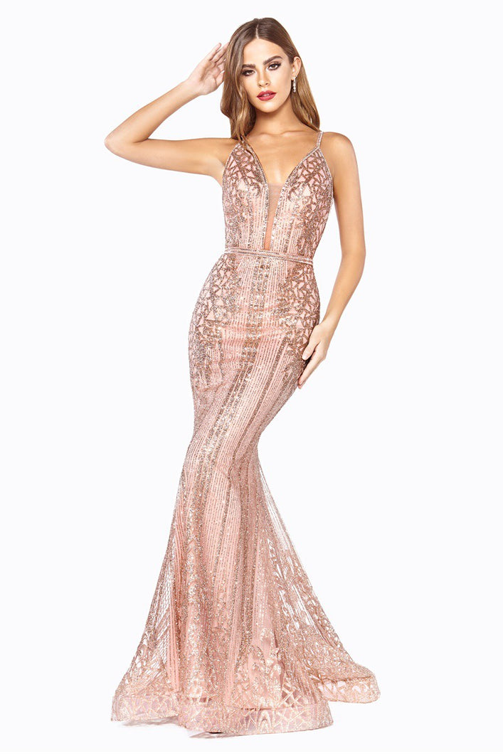 Queen Eden Dress (Rose Gold)