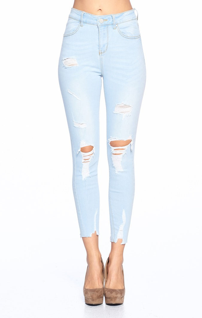 Clear As Day Jeans (Sky Blue)
