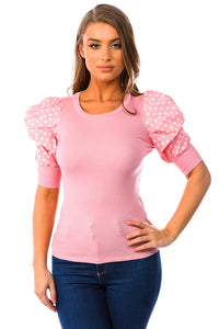 Easter Ready Top (Pink)