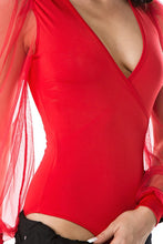 Load image into Gallery viewer, Bring It On Bodysuit (Red)