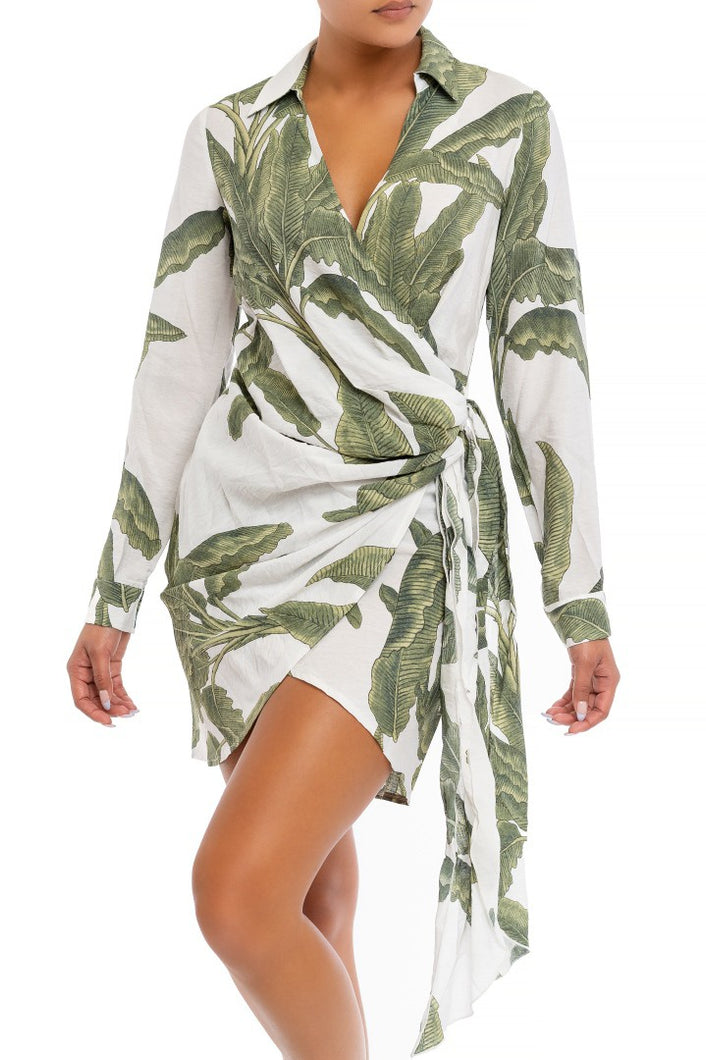 Tropical Dreams Dress (Green)