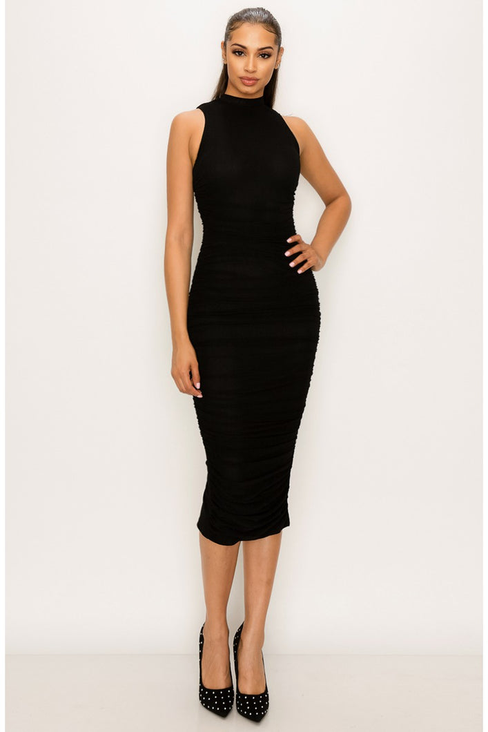 Taking the Lead Dress (Black)