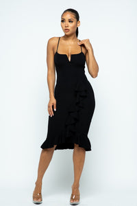 I'm With You Dress (Black)