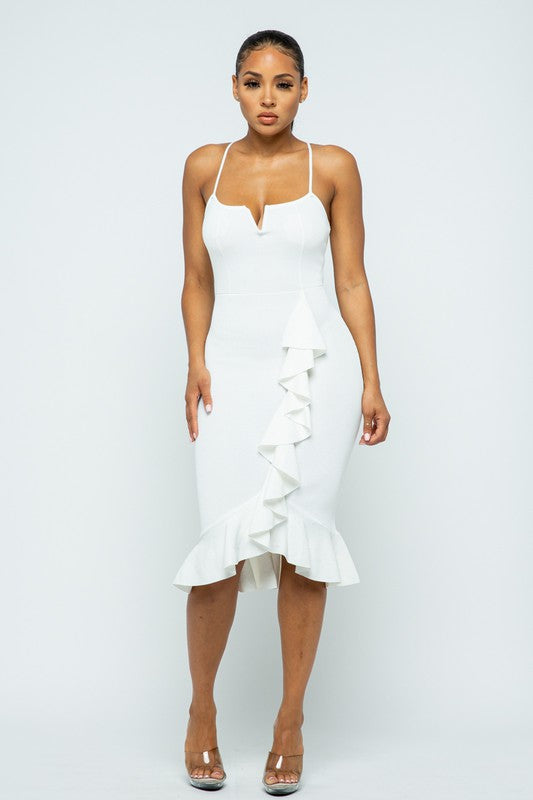 I'm With You Dress (Ivory)