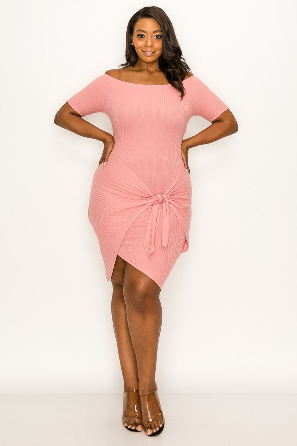 Ready Set Go Dress (Mauve)