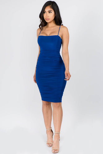The Star Dress (Royal Blue)