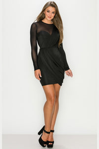 Not Your Babe Dress (Black)