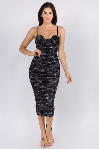 Dye For You Dress (Black)