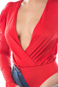 Excuse Me Bodysuit (Red)